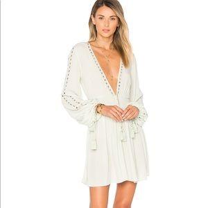 Ále by Alessandra long sleeve mini dress